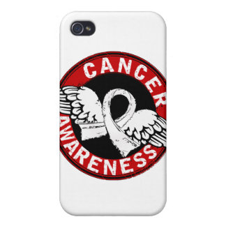 Awareness 14 Lung Cancer iPhone 4 Cover