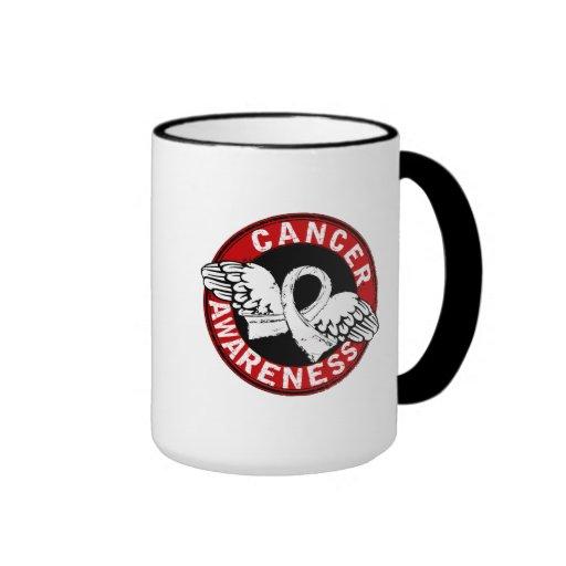 Awareness 14 Mesothelioma Coffee Mugs