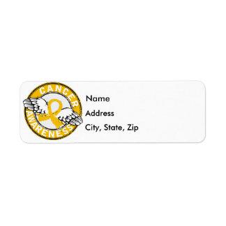 Awareness 14 Neuroblastoma Return Address Label