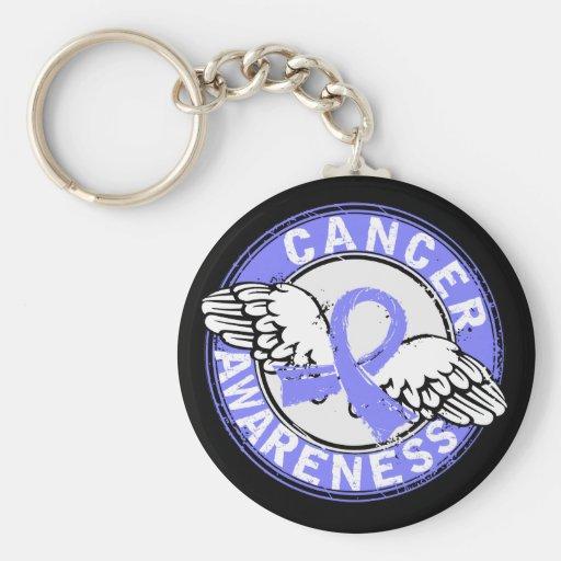 Awareness 14 Prostate Cancer Key Chain