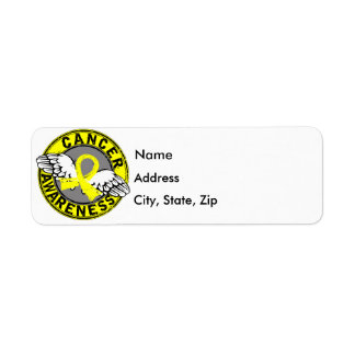 Awareness 14 Testicular Cancer Return Address Label
