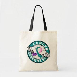 Awareness 14 Thyroid Cancer Canvas Bag