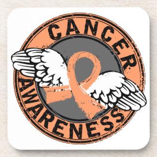 Awareness 16 Uterine Cancer Coasters