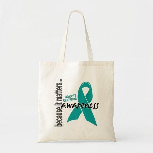 Awareness 1 Anxiety Disorder Tote Bag