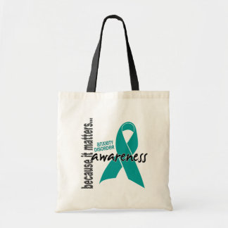 Awareness 1 Anxiety Disorder Tote Bags