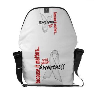 Awareness 1 Bone Disease Courier Bag