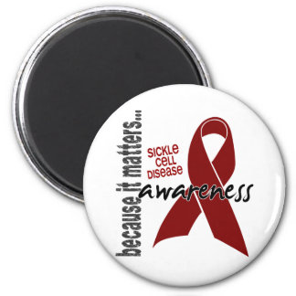 Awareness 1 Sickle Cell Disease 6 Cm Round Magnet