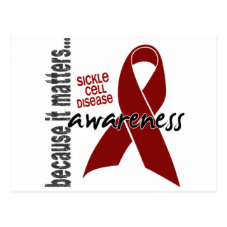 Awareness 1 Sickle Cell Disease Postcard