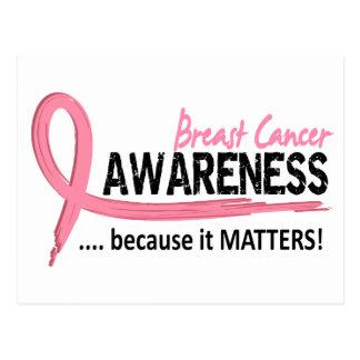 Awareness 2 Breast Cancer Postcard