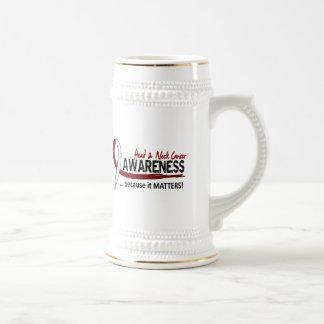 Awareness 2 Head Neck Cancer Coffee Mugs