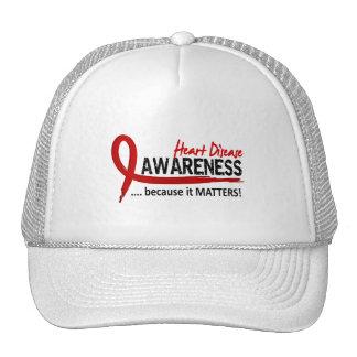 Awareness 2 Heart Disease Hat