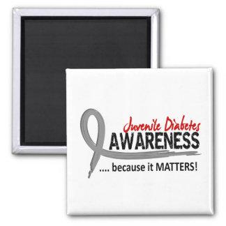 Awareness 2 Juvenile Diabetes Fridge Magnet