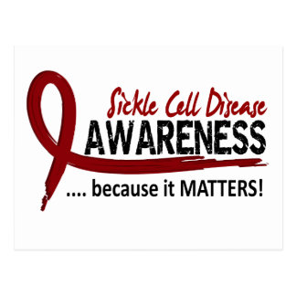 Awareness 2 Sickle Cell Disease Postcard