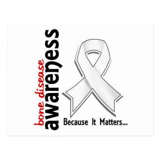 Awareness 5 Bone Disease Postcard