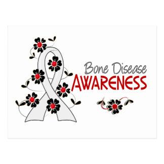 Awareness 6 Bone Disease Postcard