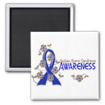 Awareness 6 Guillain Barre Syndrome Square Magnet