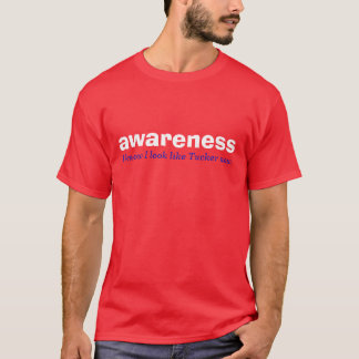 awareness brilliant red. white, and blue edition T-Shirt