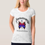 AWARENESS Butterfly Pulmonary Fibrosis Tshirts
