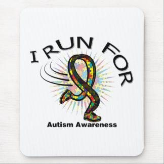 Awareness I Run For Autism Mouse Mats