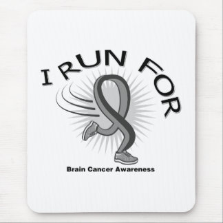 Awareness I Run For Brain Cancer Mouse Pad