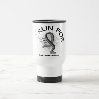Awareness I Run For Brain Cancer Mug