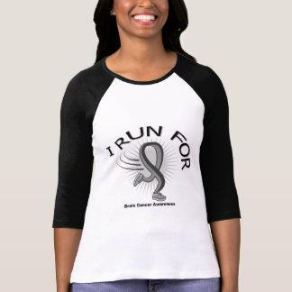 Awareness I Run For Brain Cancer T Shirts