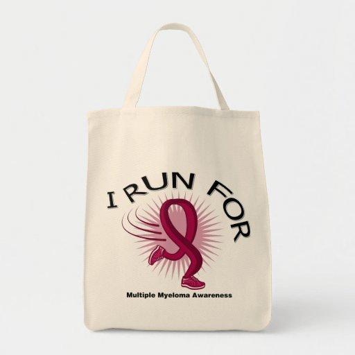 Awareness I Run For Multiple Myeloma Tote Bag