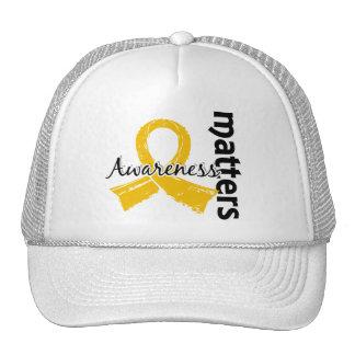 Awareness Matters 7 Childhood Cancer Trucker Hat