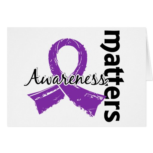 Awareness Matters 7 Fibromyalgia Greeting Card
