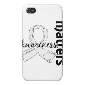 Awareness Matters 7 Lung Cancer iPhone 4 Covers