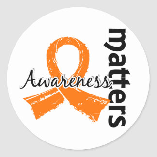 Awareness Matters 7 Multiple Sclerosis Classic Round Sticker