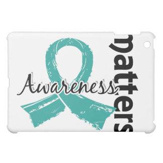 Awareness Matters 7 Peritoneal Cancer iPad Mini Covers