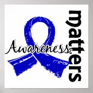 Awareness Matters 7 Rectal Cancer Poster