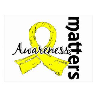 Awareness Matters 7 Testicular Cancer Postcard