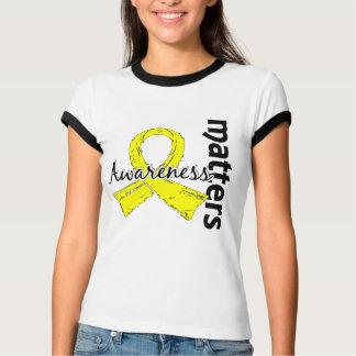 Awareness Matters 7 Testicular Cancer T-Shirt