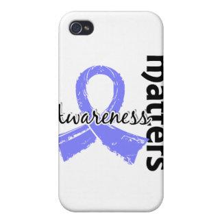Awareness Matters 7 Thyroid Disease iPhone 4/4S Case