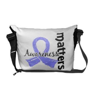 Awareness Matters 7 Thyroid Disease Messenger Bag