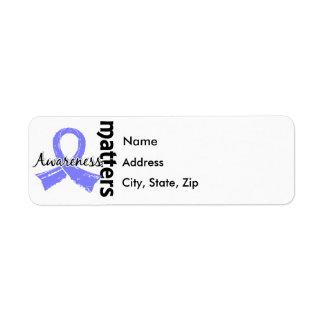 Awareness Matters 7 Thyroid Disease Return Address Label