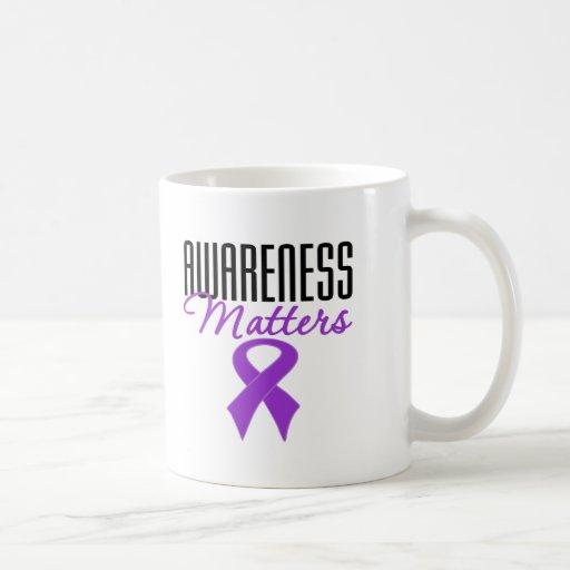Awareness Matters Alzheimer's Disease Coffee Mugs