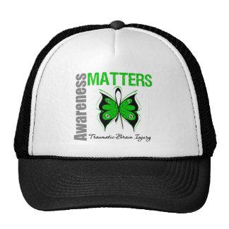 Awareness Matters Butterfly Traumatic Brain Injury Trucker Hat