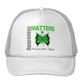 Awareness Matters Butterfly Traumatic Brain Injury Trucker Hats