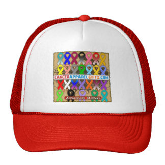 Awareness Matters by CancerApparelGifts.Com Mesh Hats
