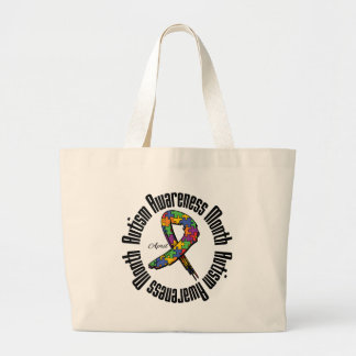 Awareness Month - Autism Canvas Bags
