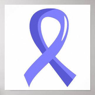 Awareness Ribbon 3 Addison s Disease Poster