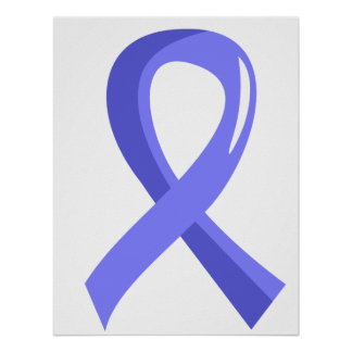 Awareness Ribbon 3 Addison s Disease Posters