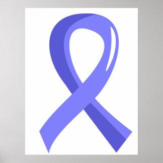 Awareness Ribbon 3 Behcet s Disease Print