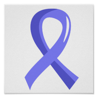 Awareness Ribbon 3 Behcet s Disease Poster