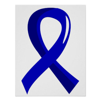 Awareness Ribbon 3 Erb s Palsy Poster