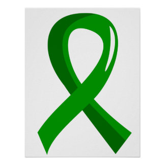 Awareness Ribbon 3 Gastroparesis Posters