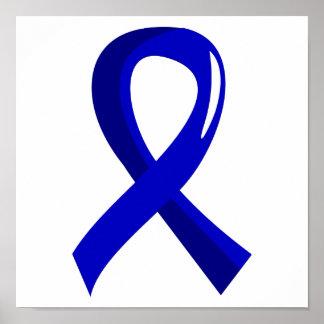 Awareness Ribbon 3 Guillain Barre Syndrome Print